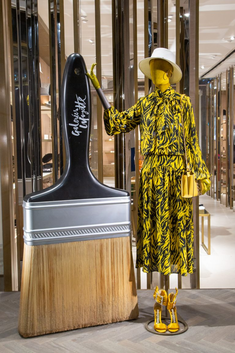 Galeries Lafayette Doha launches new campaign, Pantone – The Exploration of Colors