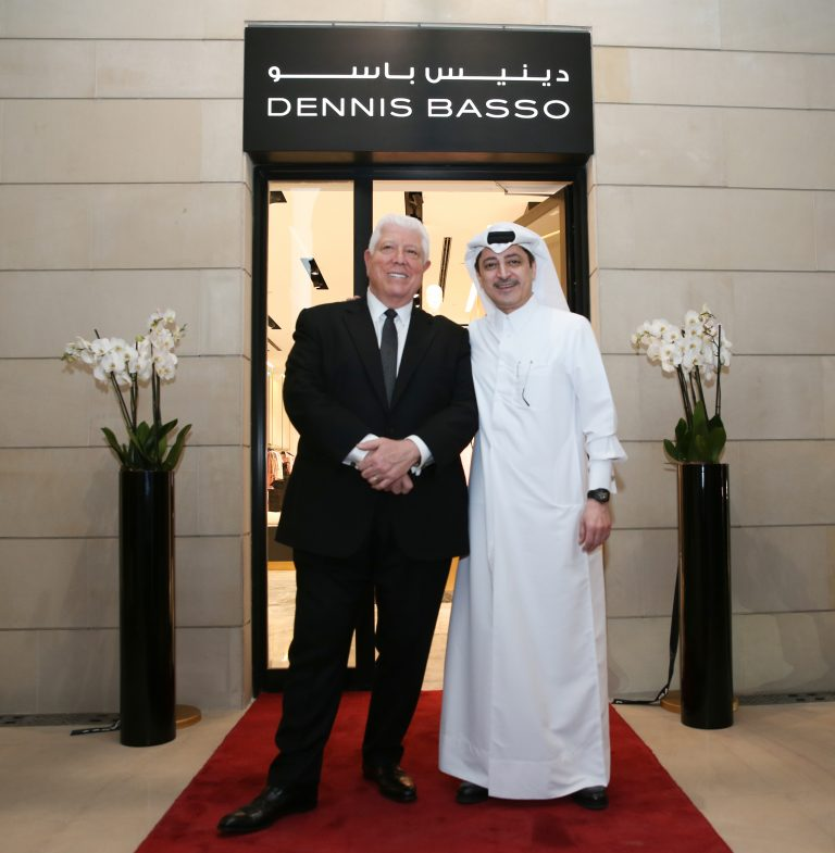 American designer Dennis Basso opens first boutique in the Middle East at 21 High st, Katara